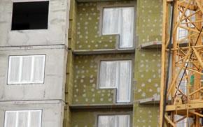 Ремонт трещин на фасаде дома